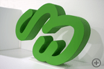 3D-Logo GreenElephant