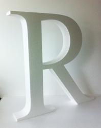 styropor unlackiert styropor lackiert 3d verbundbuchstaben mit ...